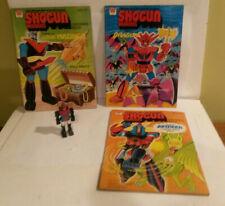 Shogun Warriors Mattel coloring book robot toy Dragun Mazinga Raydeen Combattra