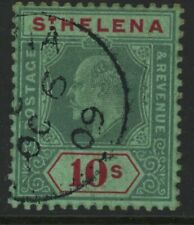 ST. HELENA, USED, #60, VERY NICE PIECE, 4 MARGINS