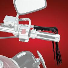 """Honda VT1300, VTX1300 & VT1800 - Clutch & Brake Lever Leather 12""""Fringe/Tassels"""