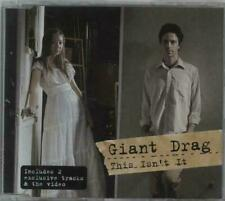GIANT DRAG - THIS ISNT IT - CD SINGLE (2006) UK 9856327