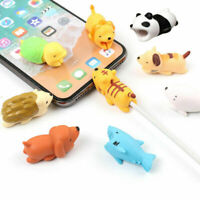 Animal Bites Cable Protector Accessory for iPhone Smartphone Charger Cord Adapt