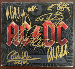 AC/DC Black Ice CD Signed Autographed