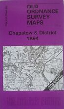 Old Ordnance Survey Maps Chepstow & District & Detailed Map Beachley 1894 S250