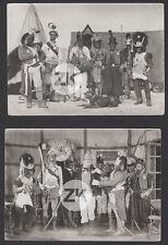 CALINO ET SON CHIEN Les Modot POUICS Migé DURAND Tournage GAUMONT 2 Photos 1913