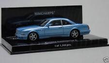 Coche de automodelismo y aeromodelismo MINICHAMPS color principal azul