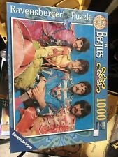 Beatles Sgt. Peppers Jigsaw Puzzle 1000 Piece Ravensburger Sealed Free Shipping!