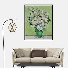 Ramo de flores en un jarrón cartel de pintura al óleo Casa Pared Arte Decoración