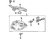TOYOTALEXUS 9098113071 GENUINE OEM FOG LAMP BULB(Fits: Lexus)