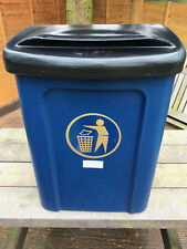 Cesear Titus Wall or Post Mountable LITTER / GENERAL WASTE Bin C/W LID & LINER