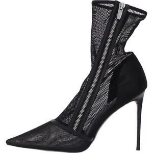Steve Madden Womens Mixer Black Mesh Pumps Shoes 8.5 Medium (B,M) BHFO 8320