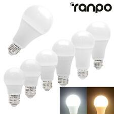 E27 Tornillo LED Globo Lámpara de Bombilla Luz 3W 5W - 18W 20W Cool Warm White