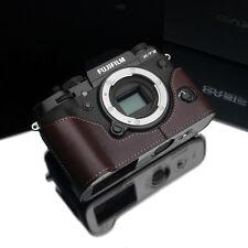 GARIZ Leather Half Case Fujifilm Fuji X-T2 XT2 XS-CHXT2BR Brown