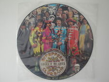 The Beatles: Sgt. Pepper's Lonely Hearts Club Band   Picture Vinyl