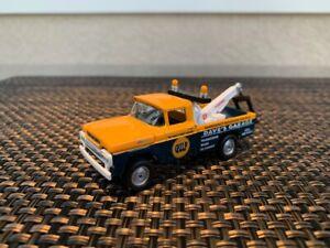 Johnny Lightning 1959 Ford F250 Tow Truck Wrecker GULF Dave's Garage 1:64 VHTF!