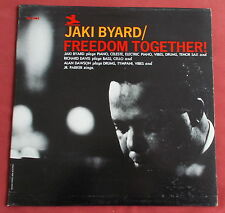 JAKI BYARD LP ORIG US STEREO PRESTIGE FREEDOM TOGETHER