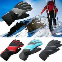 Mens Thermal Ski Snowboard Gloves Waterproof Winter Snow Winter Sport Gloves