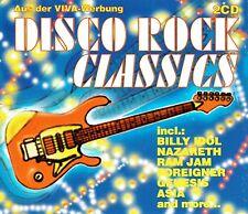 (2CD's) Disco Rock Classics - Asia, Far Corporation, Nazareth, Rainbow,The Knack