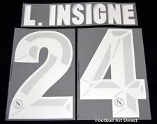 Napoli L.insigne 24 Football Shirt Name/Number Set Kit Home Serie a 2013/14