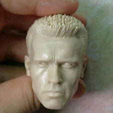 1//6 Older Arnold Schwarzenegger T800 Head Sculpt For 12/'/' Phicen Body Hot Toys