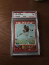 1971 Topps Football PSA 7 Bob Anderson #212