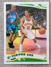 New listing TYRONN LUE 2005-06 Topps Chrome REFRACTOR #ED /999 Basketball Card #87 Hawks NBA