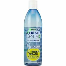 Naturel Promise Fresh Dental Water Additive for Dogs/Cats 1x532ml NEW