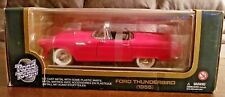 Yat Ming 1955 Ford Thunderbird 1:18 Red Diecast Car Road Tough 92068