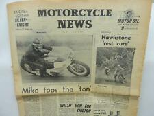 1960 Motorcycle News Newspaper Triumph Tiger Cub Welsh Two Day Trial L6882