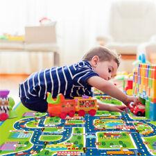 Kids Crawling Soft Foam Educational Game Car Play Mat Picnic Carpet 160x130cm