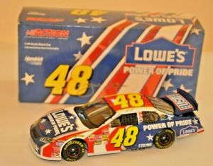 Action Collectible Jimmie Johnson #48 Lowes/Power of Pride Stock Car 1:24 Scale