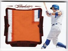 DAVID WRIGHT 2017 Flawless Game Used Prime Patch Jersey New York Mets 3/10