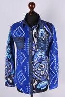 Ladies Desigual Multicolored Long Sleeve Shirt Size XS