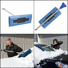 """Snow Broom Removal Equipment Tool Shovel Brush with Ice Scraper for Car Roof 49"""""""