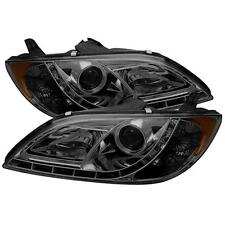 Projector Head Lights Lamps Mazda 3 2004-2008 Non Hatchback DRL LED - Smoke