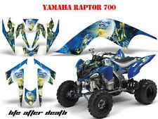 Amr racing Graphic Kit ATV yamaha raptor 250/350/660/700 Iron Maiden-l.a.d. B