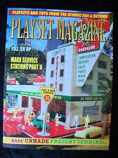 Playset Magazine #58 Marx ser Stations part II + T.Cohn