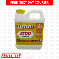 SENTINEL X100 CENTRAL HEATING SYSTEM CORROSION INHIBITOR 1 L SCALE BOILER - NEW
