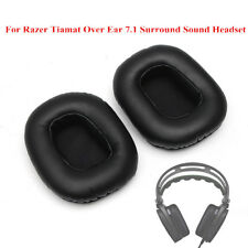 Replacement Cushion Ear Pad For Razer Tiamat Over Ear 7.1 Surround Sound Headset