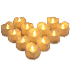 2020 12*Flameless LED Tea Light Candles Battery Operated Wedding_Party Home Deco