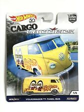 Hot Wheels Cargo Carriers Volkswagen T1 Panel Bus Mooneyes