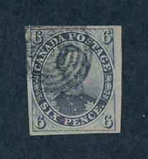 drbobstamps Canada Scott #2 Used Scarce 4 Margin Stamp w/Clean Greene Cert