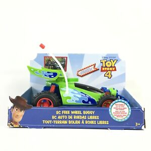 Disney Pixar Toy Story 4 RC Free Wheel Buggy With Push & Go Action