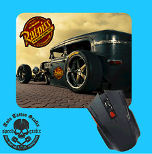 RAT PISS RAT ROD MOUSEPAD MOUE PAD MOUSE MAT COMPUTER LAPTOP MAKES A COOL GIFT