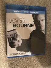 Jason Bourne Bluray 1 Disc Set ( No Digital Hd)