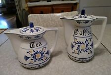 Vintage Royal Sealy Japan heritage coffee and tea pots.