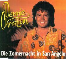 DENNIE CHRISTIAN - Die zomernacht in San Angelo 2TR CDM 1997 SCHLAGER / DUTCH
