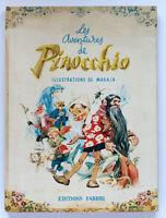 Collodi - Les aventures de Pinocchio - ed. 1959 - Illustrazioni Maraja