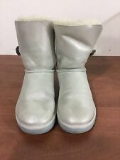 UGG women's size 7 silver boots