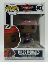 Funko Pop! Spiderman Into the Spiderverse #403 Miles Morales New + Pop Protector