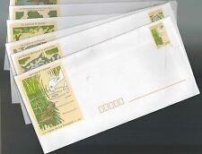 FRANCE - Série de 6 Enveloppes illustrées - Fable de la Fontaine